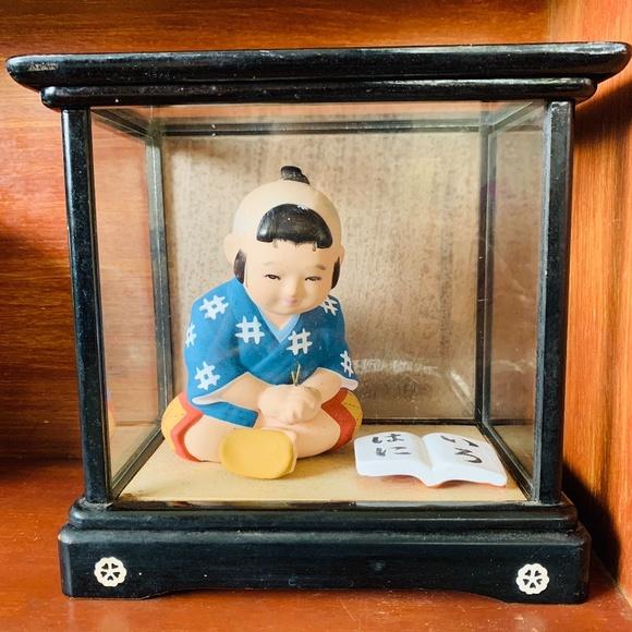 VTG Japanese Doll in Case